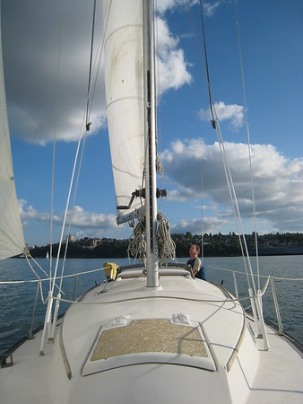 Sailing with Terry ~ Aug 2008