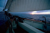 Approaching Squall, Pride of Baltimore II, enroute to the Bahamas