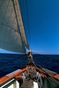 Blue Water Sailing, Pride of Baltimore II, enroute to Bermuda