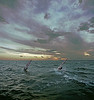 Windsurfers, Pamlico Sound, North Carolina