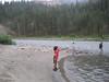 Mattias gets in a little fishing