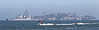 USA 2011 - San Francisco Fleet Week - Ship Parade<br /> Alcatraz - USS Milius (DDG 69)