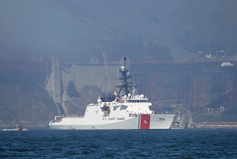 USA 2011 - San Francisco Fleet Week - Ship Parade<br /> US Coast Guard - USCG Bertholf