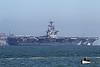 USA 2011 - San Francisco Fleet Week - Ship Parade - USS Carl Vinson (CVN 70)