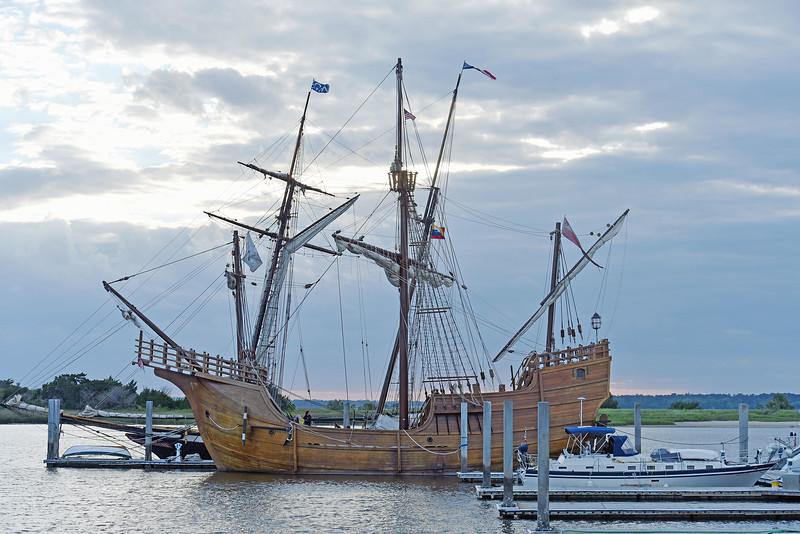 Santa Maria at Brunswick Landings Marina 04-20-19
