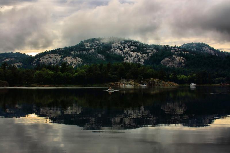 Baie Fine in Killarney Provincial Park.