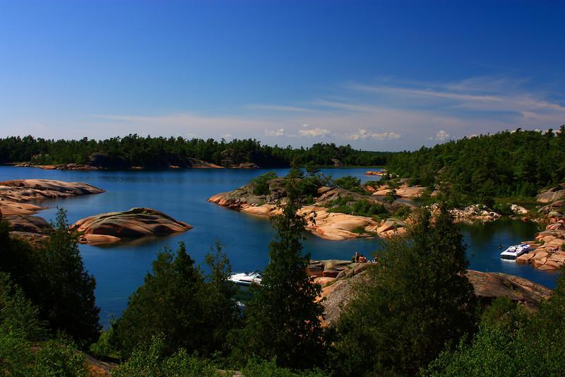 Overlooking the Benjamin Islands