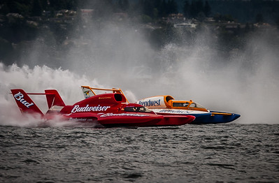 GM Cup at Seafair, U-1 MISS BUDWEISER / U-2 TRENDWEST