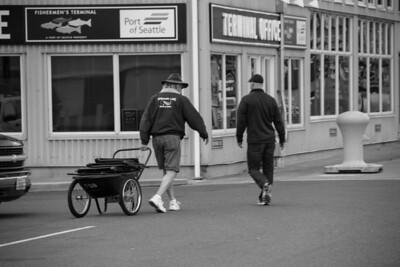Man Pulling Cart 1