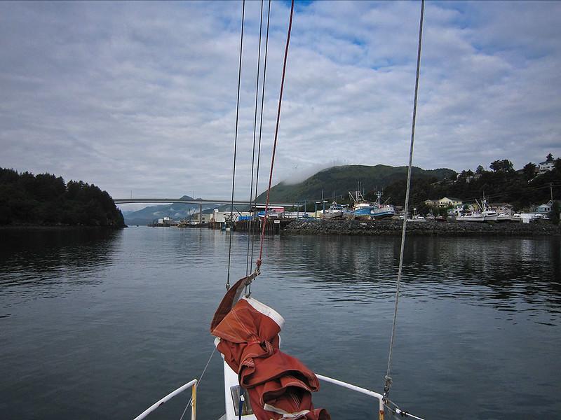 ps_2669  Kodiak Harbor, 1015 on Friday morning.
