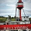 Lightship Petrel,<br /> Ballydorn Bay<br /> County Down<br /> 28th July 2014