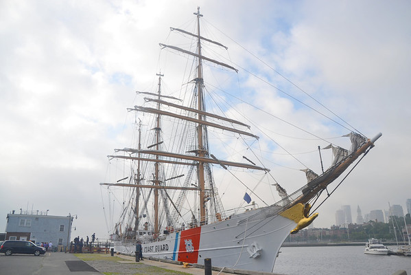 USCG Eagle<br /> Boston Harbor<br /> 7/29/13<br /> 09:35 hd hrs