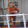 Unknown deckhand with camera