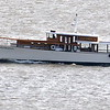Today 3/14/18 @ 1036 hd hrsb here comes Classic Manhatten northbound for who knows where. This is a classic tour yacht with many differant tour packages. Good shot at someone at the helm and s solo passanger aft.<br /> Mount Beacon as is.