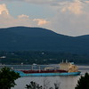 Last evening 8/8/18 at 19:34 hd hrs we have thanker Maersk Beaufort inbound. A bow watch is visable and a cameo appearence in port bridge hatch.Just under 2 football fields in leighth.