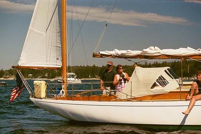 TABAKEA, Concordia Yawl, spectating