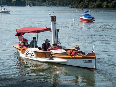 Steam Boat Rally Windermere 2015