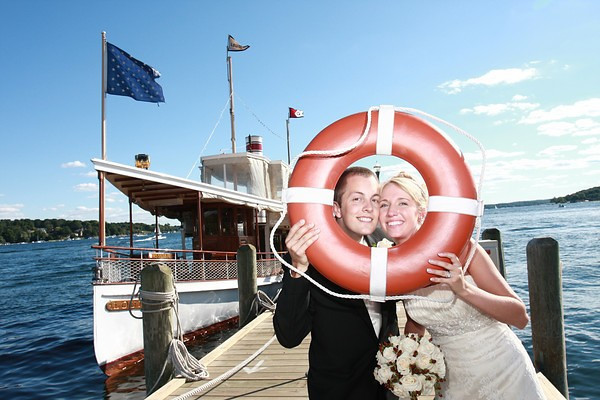 The Louise is a perfect setting for wedding pictures.