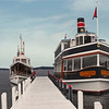 The Steam Yacht Louise is one of 8 boats of Lake Geneva Cruise Line and is capable of handling up to 50 guests.