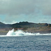View from the anchorage at Easter Island.