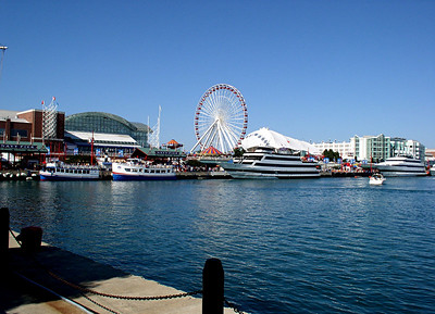 View of Navy Pier