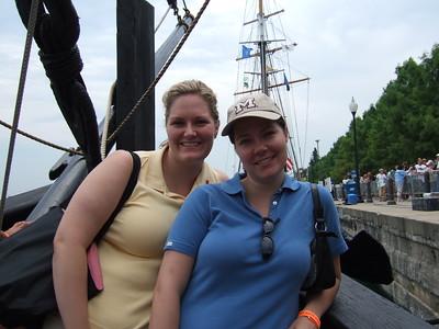 Kate and Megan