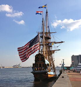 The present day Kalmar Nyckel serves as Delaware's seagoing goodwill ambassador. She was built by a group of committed citizens to be a continuing witness to the courage and spirit of those individuals who undertook the mid-winter North Atlantic crossing in 1637-1638.   Since 1998, the ship has served as an outreach platform for the State of Delaware and a catalyst for social and economic development. The ship provides a unique platform for the Foundation's educational programming as well as a venue for diplomatic, recreational, governmental and commemorative functions. The ship is owned and operated by the Kalmar Nyckel Foundation, a non-profit organization that offers people of all ages a variety of sea and land based learning and recreational experiences.