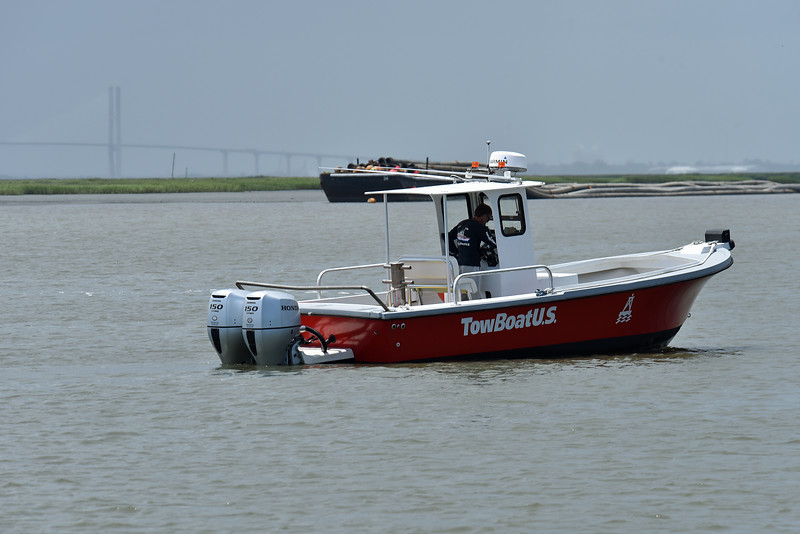 TowBoatUS in Jekyll Creek and St. Andrews Sound 07-12-19