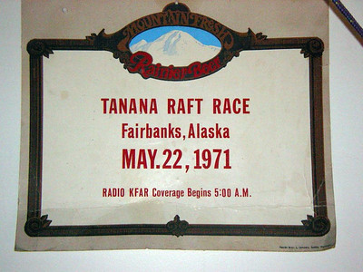 1970 Fairbanks-Nenana Raft Race