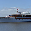 "Trumpy Yacht ""America"" in Jekyll Creek 03-22-21"