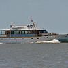Trumpy Yacht America entering Jekyll Creek at Jekyll Island, GA 05-03-18