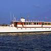 """The Trumpy Yacht """"Drifter"""" at Belhaven"""