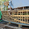 "Trumpy Yacht ""Friendship"" now getting ALL NEW ribs and planks during total refit 01-05-18"