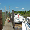 "Trumpy Yacht ""Friendship"" meets her demise in Darien, Georgia 05-18-14"