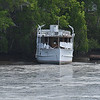 """Trumpy Yacht """"Friendship"""" up creek near Darien, GA after partial refit after her sinking and is for sale 04-20-17"""
