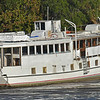 """Trumpy Yacht """"Friendship"""" up creek near Darien, GA after partial refit after her sinking and is for sale 12-01-16"""