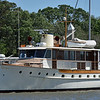 Trumpy Lady Catherine at Jekyll Harbor Marina 04-21-19