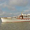 Trumpy Yacht Liberty Southbound in Jekyll Creek 11-13-18