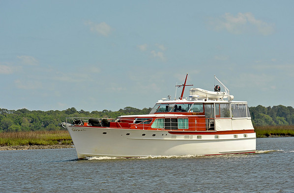 "Trumpy Yacht ""Windrush"""