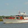 Trumpy Yacht Windrush 05-10-10 in Georgia Intracoastal Waterway (ICW) near Plum Orchard of Cumberland Island