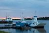 Tugs Pat Lyall, Nelson River and barge Niska I.