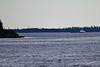 Tug Pat Lyall bringing a barge to Moosonee.