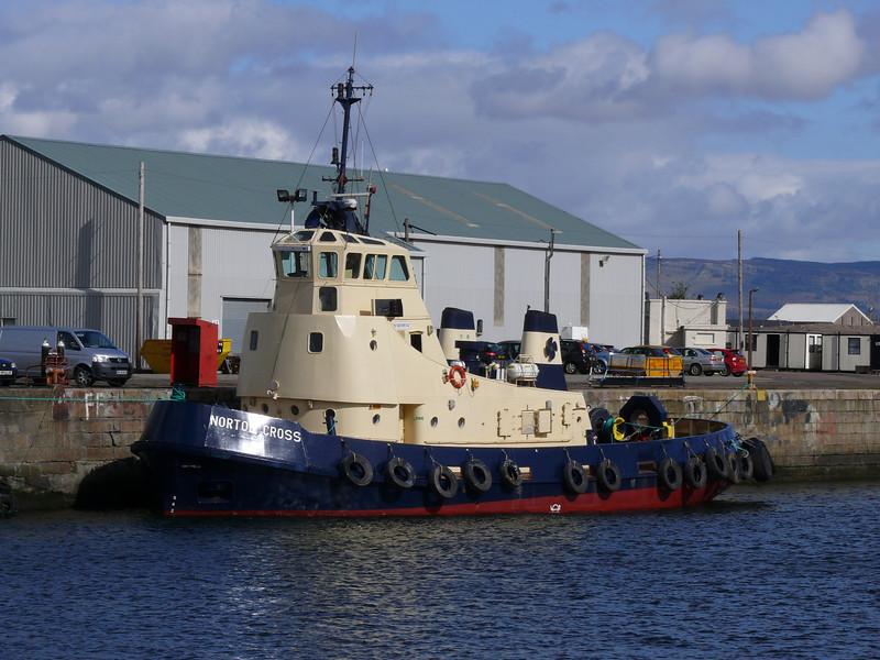Norton Cross in James Watt Dock.<br /> 8th April 2009