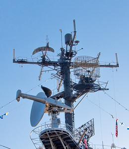 USS Intrepid and New York