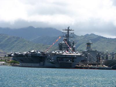 USS MIGHTY MO MISSOURI BATTLESHIP 7-4-12