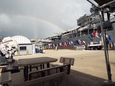 USS Missouri BB-63 Overnight Nov 14 2015