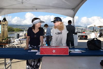USS Missouri picnic on the pier BB-63 June 15 2018