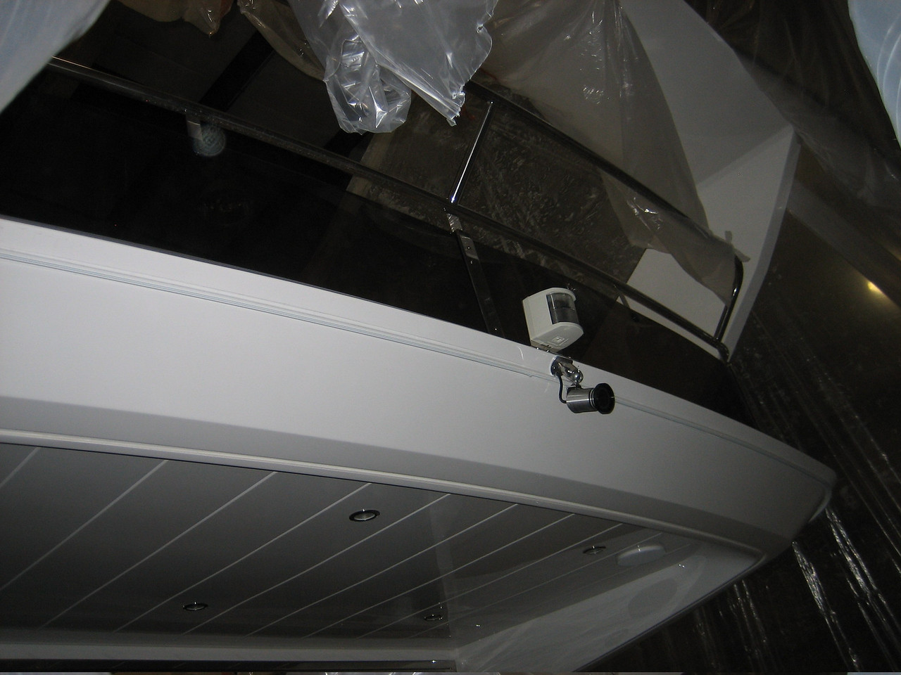 Aft Camera Installed
