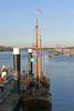 Oude zeilboot op de Schelde - Rupelmonde