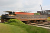 Binnenschip op de scheepshelling in Rupelmonde